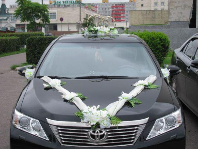 Toyota Camry, цвет черный15