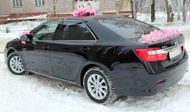 Toyota Camry, цвет черный16