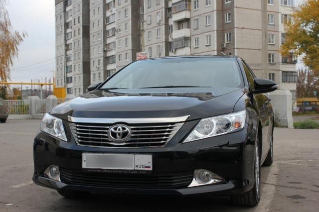 Toyota Camry, цвет черный17