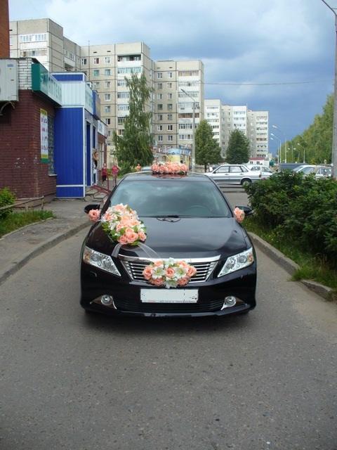 Toyota Camry, цвет черный4