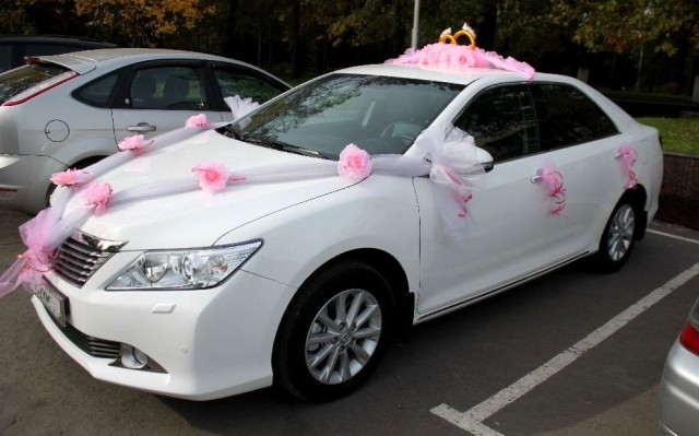 Toyota Camry 2013, белый 6