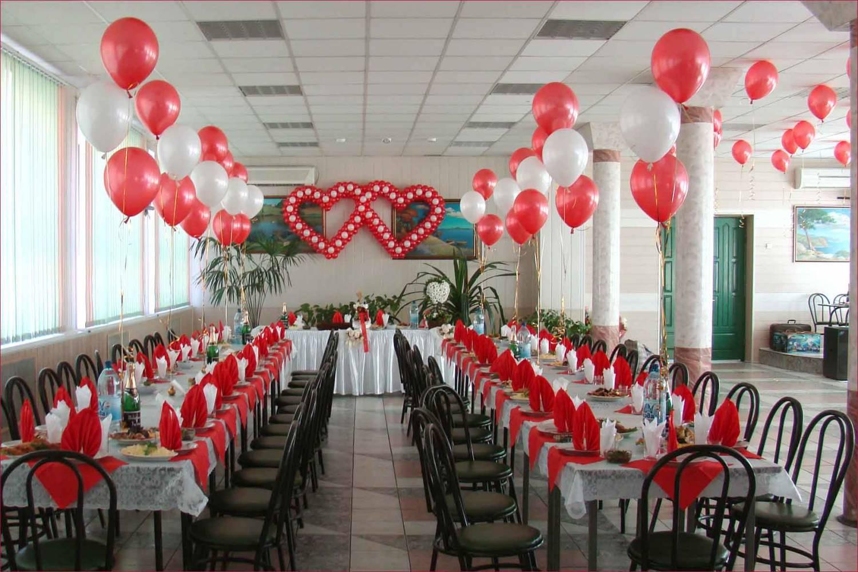 Идеи украшения свадебного зала своими руками фото