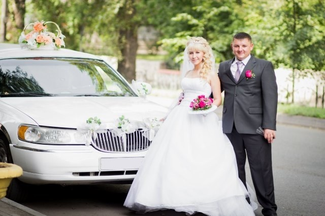 Свадьба, лето