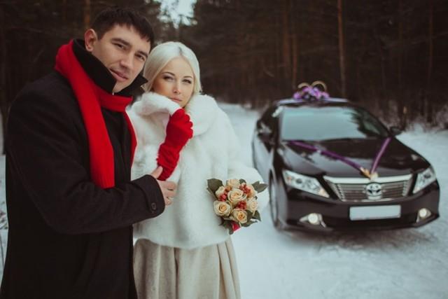 Свадьба, Тоня и Иван, автомобиль Toyota Camry V50