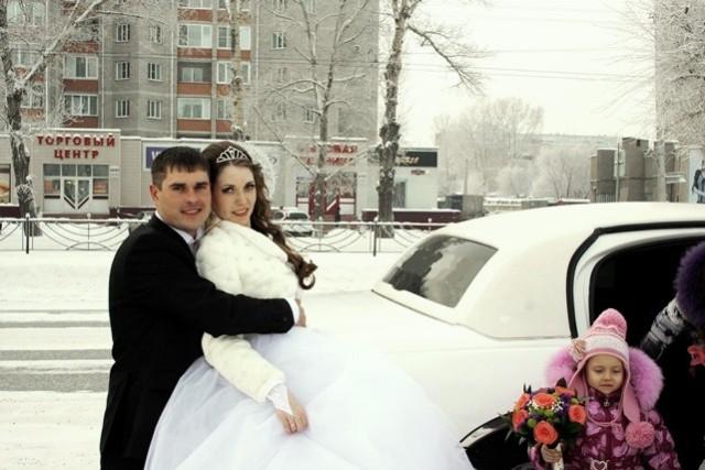 Свадьба, зима