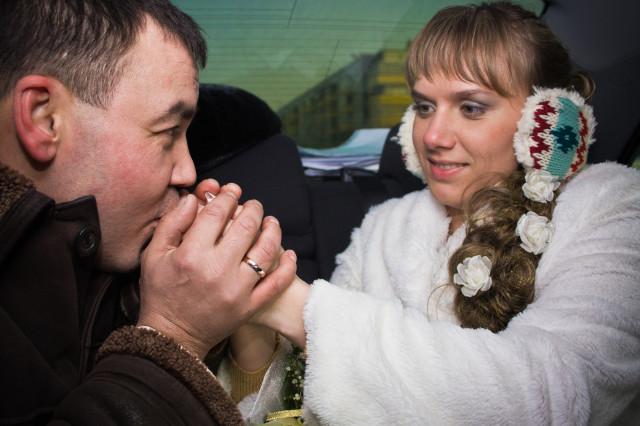Зима, Свадьба