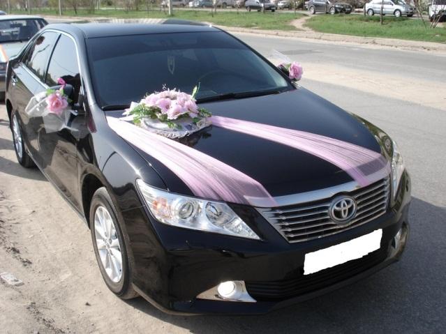 Toyota Camry, цвет черный9